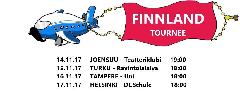 FINNLAND, Tampere, Turku, Helsinki