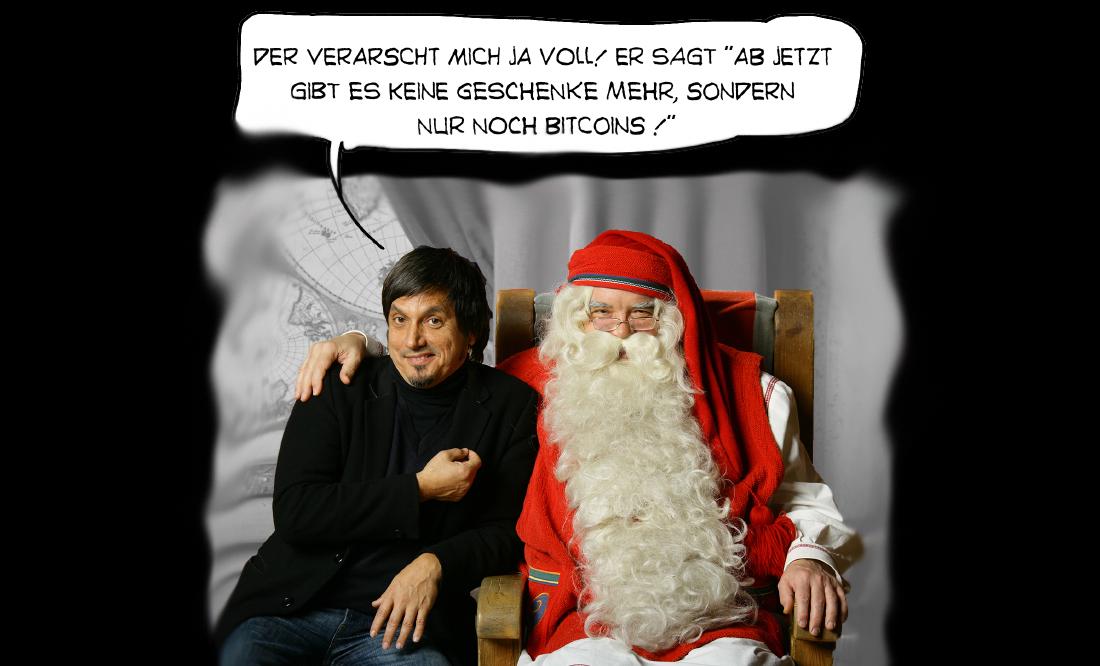 Bitcoin statt Geschenke